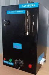 Top Loading Electric Sanitary Napkin Incinerator Machine