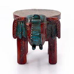 Handmade Elephant Stool