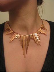 Divine Copper Women Copper Necklace, 200-250 Gm