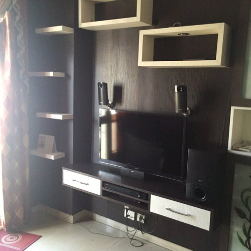 Wood Brown Wall Mount Led Tv Cabinet Rs 500 Square Feet Saifi