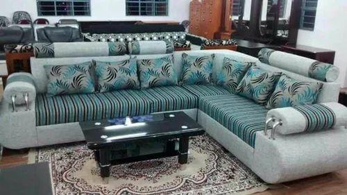 Sekar Sons Multi Colored L Sofa Rs