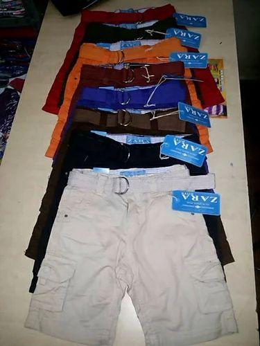 Kids Shorts Export Surplus Garments, Stocklot Garments