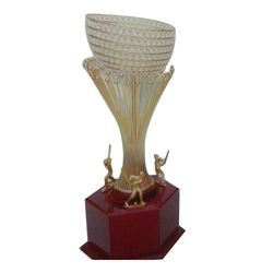Crystal Sports Trophy, Packaging Type: Box