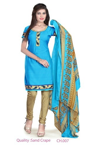 Cotton Casual Wear Ladies Designer Suits
