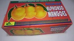Mango Corrugated Paper Box