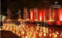 Decorative Candle Party Decoration Services