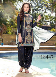 Patch Work Patiala Salwar Suit