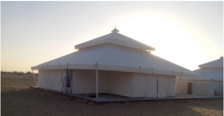 Cone Shaped Mughal Tent & Mughal Tents - Mughal Tent Manufacturer from Jodhpur