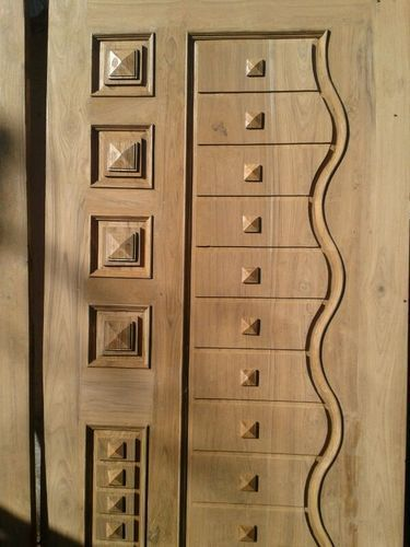 Teakwood door european solid teak wood door design buy for Designer door design