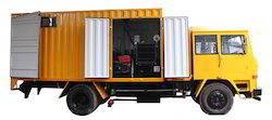 Cenlub Systems Stainless Steel Mobile Lube Van with Generator, 220 V