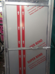 PVC Door With Aluminium Frame