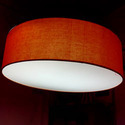 Hanging Drum Lamp Shades