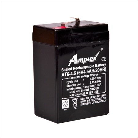 amptek 6 volt 4 5 ah smf battery rs 270 unit narson. Black Bedroom Furniture Sets. Home Design Ideas