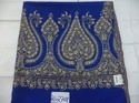 Pure Pashmina Hand Embroidered Paisley Border Shawls.