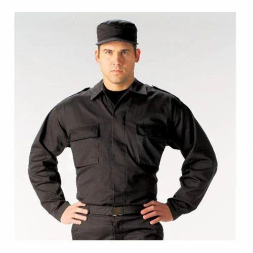 663dd8d6 Black Security Uniform at Rs 450 /piece | सिक्योरिटी ...