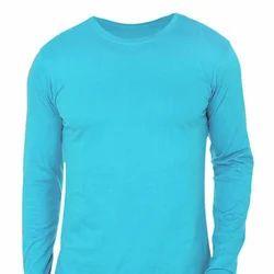 Full Sleeves Plain T- Shirt