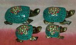 Box Wooden Tortoise