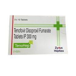 Tenofovir Disoproxil Fumarate Tablets IP 300 mg