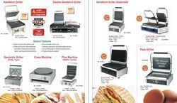 Commercial Electric Sandwich Griller