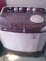 Red And White Washing Machine