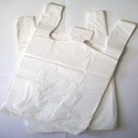 White Plain Plastic Carry Bags