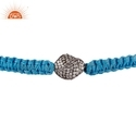 Diamond Macrame Bracelet