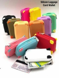 Silicon Suitcases Luggage Pouch