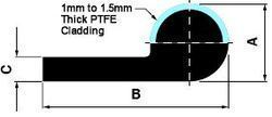 PTFE & Teflon Cladded Seals