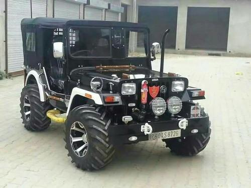 Mahindra Black Open Jeep Ready On Orde 2000 Rs 390000 Piece