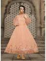 5 Colour Georgette Ladies Party Wear Gown