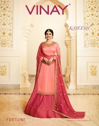 Vinay Kasheesh Fortune Georgette Designer Suits