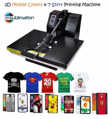 a8e8383fb Cotton T Shirts Digital Printing Machine 16 X24 Heat Press at Rs ...