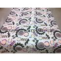 Designer Bed Sheets Half Suzani Embroidery