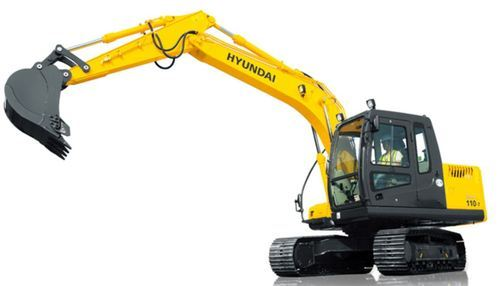 Medium Sized Excavators Robex 110 7 - Hyundai India, Pune