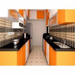 Modern kitchen in thane india indiamart for Parallel platform kitchen designs