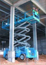 Diesel Operated Scissor Lift On Hire