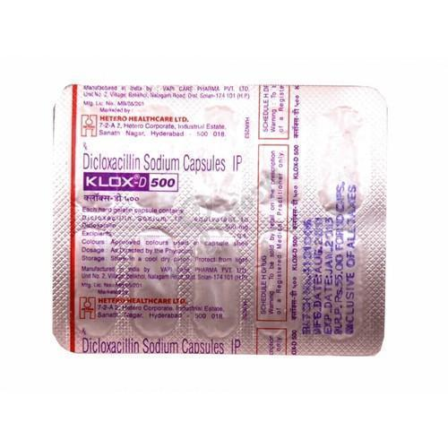 Klox-D Medicine Grade Dicloxacillin Tablets