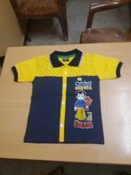 Kids Yellow Shirt