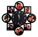 Sublimation Wall Hanging Photo Collage Clock