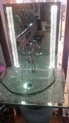 Mirror Full Glass Bowl Set