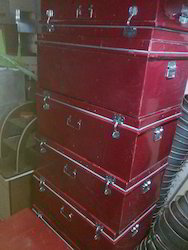 Military Box Or Metal Trunks Or Metal Box