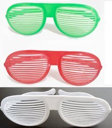 Pack Of 3 Funny Jumbo Party Glasses