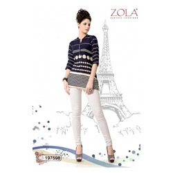 Zola Cotton 3/4 Sleeve Top