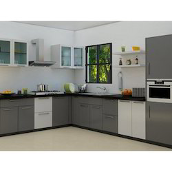 Captivating L Shaped Modular Kitchen Part 22
