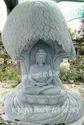 Marble Tree Buddha Statue