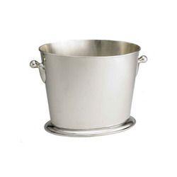 Oval Heavy Aluminum Bucket