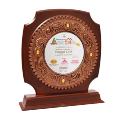 Wooden Awards At Rs 654 Pieces