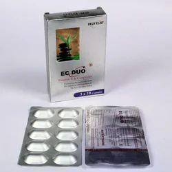 RECHELIST PHARMA Vitamin E 200 Mg Vitamin C 200 Mg Capsule, For Commerical, 3 X 10