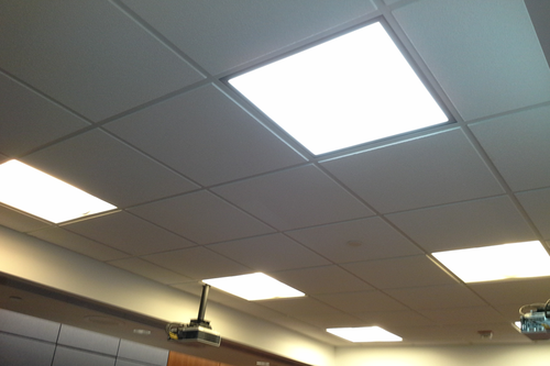 Two By Two Recess Mounting 600mm X 600mm 40w Led Panel