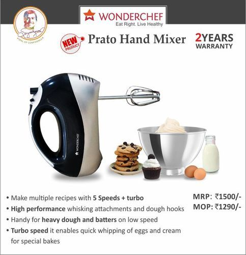 399e3d019 Wonderchef Prato Hand Mixer